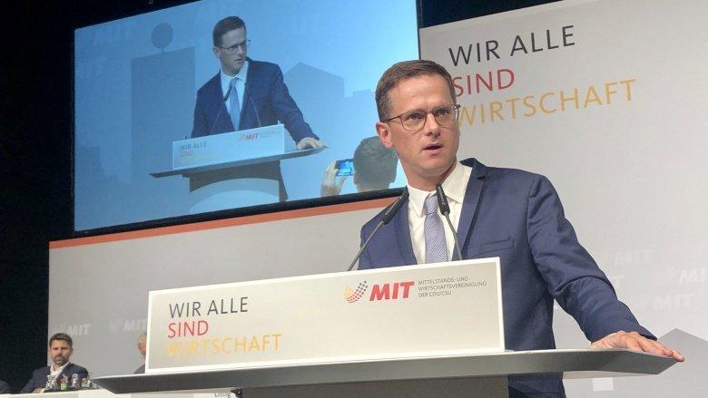 Carsten Linnemann, MIT Bundesvorsitzender
